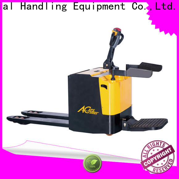 Staxx semi electric pallet stacker company for warehouse