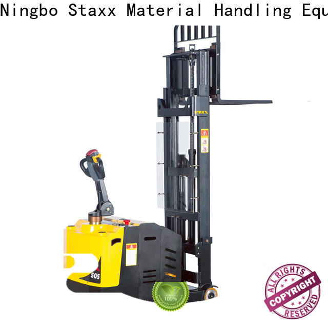 Staxx balance semi electric pallet truck for business for rent