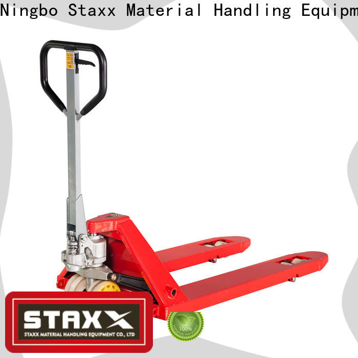 Staxx hand 12 pallet truck company for rent