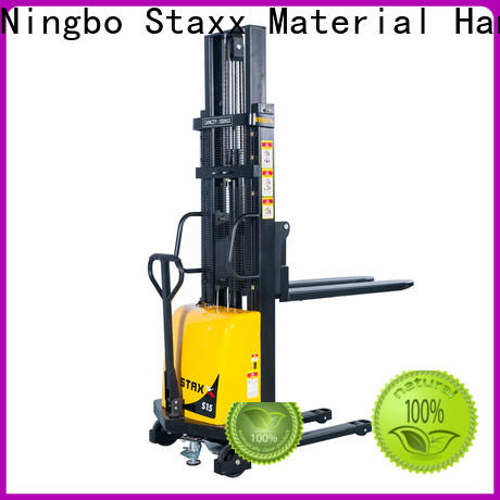 Staxx stacker counterbalance lifting equipment company for rent
