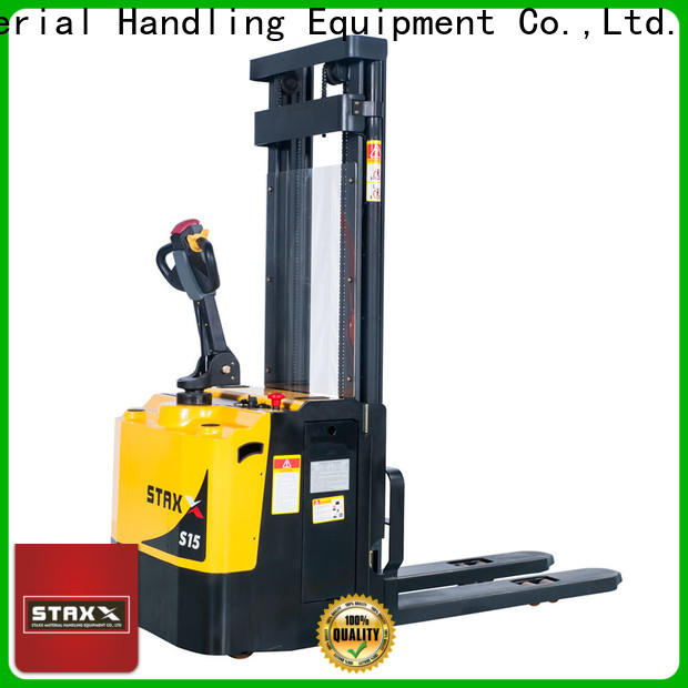 Staxx Top scissor lift pallet jack Supply for warehouse