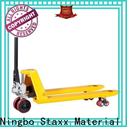 Staxx scissor lift pallet manual pallet mover manufacturers for rent
