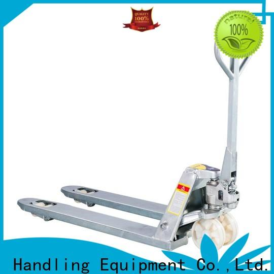 Latest electric pallet jack manufacturers duty Supply for rent