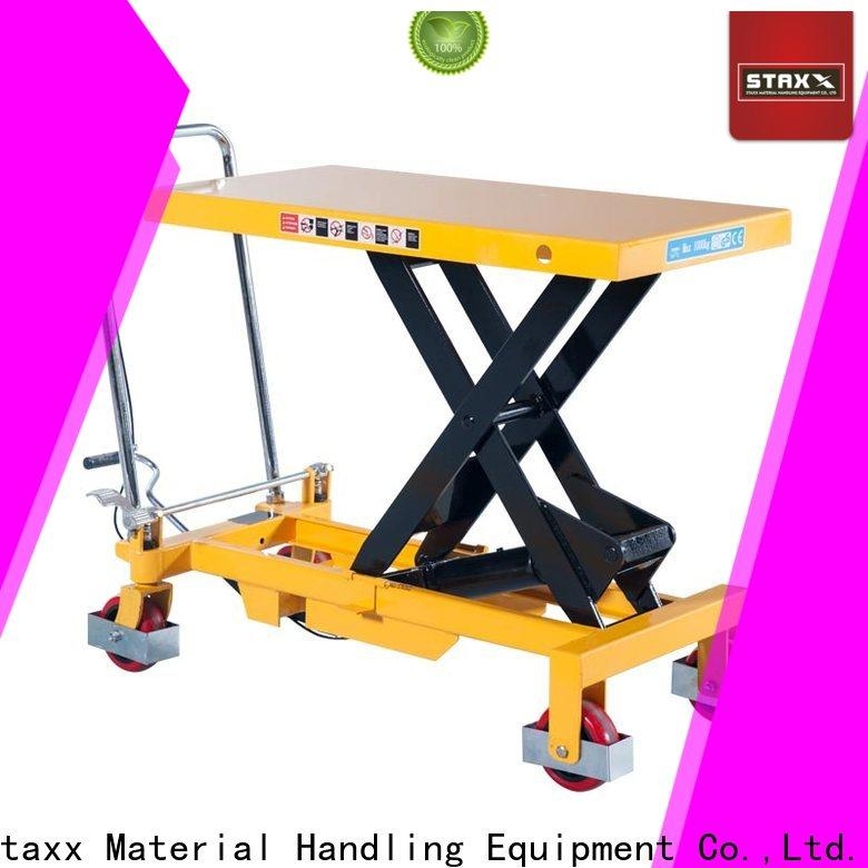 Staxx New material scissor lift Suppliers for hire