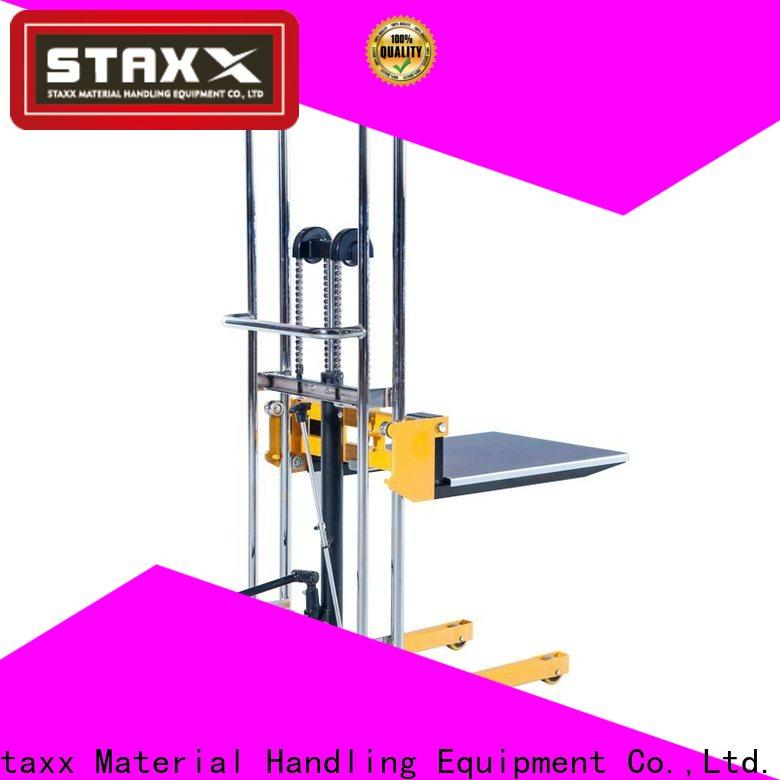 Staxx Best hydraulic pallet lift table Supply for stairs