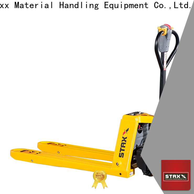 New semi automatic pallet jack pallet factory for stairs