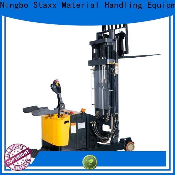 Staxx straddle scissor lift pallet jack company for warehouse