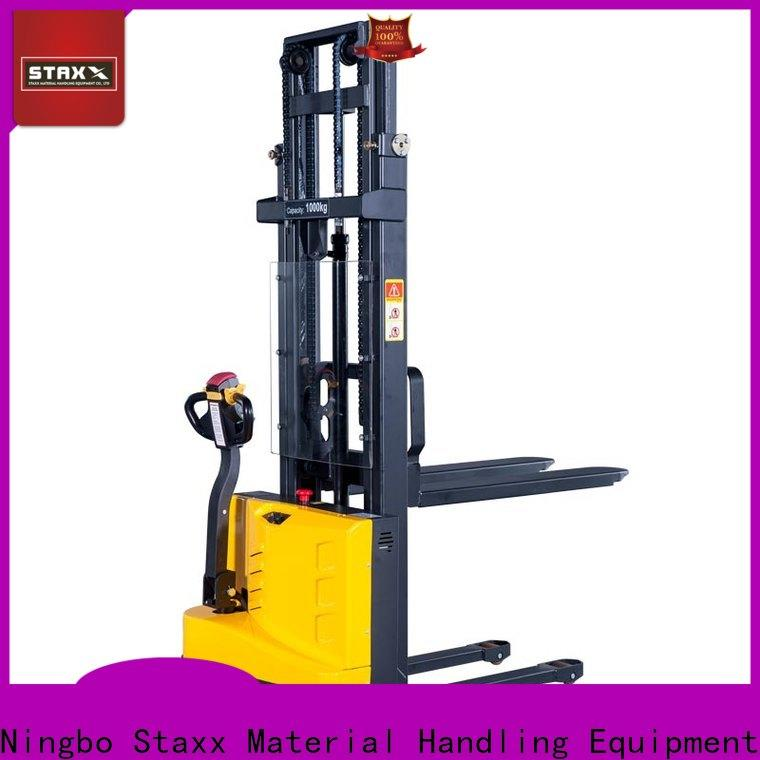 Staxx stacker adjustable pallet truck for business for rent