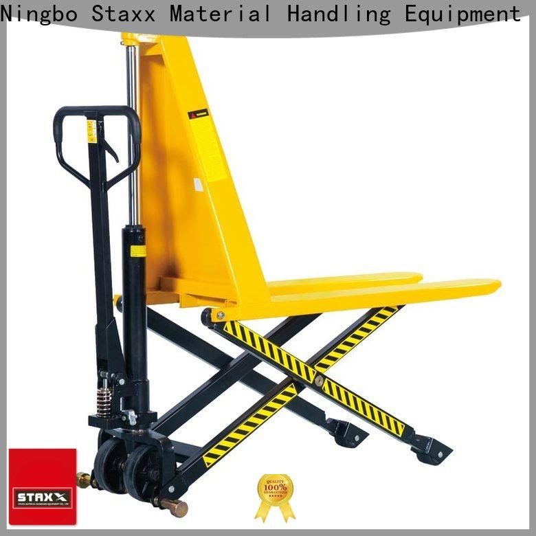 Staxx hpt25g30g hydraulic pallet truck trolley manufacturers for hire