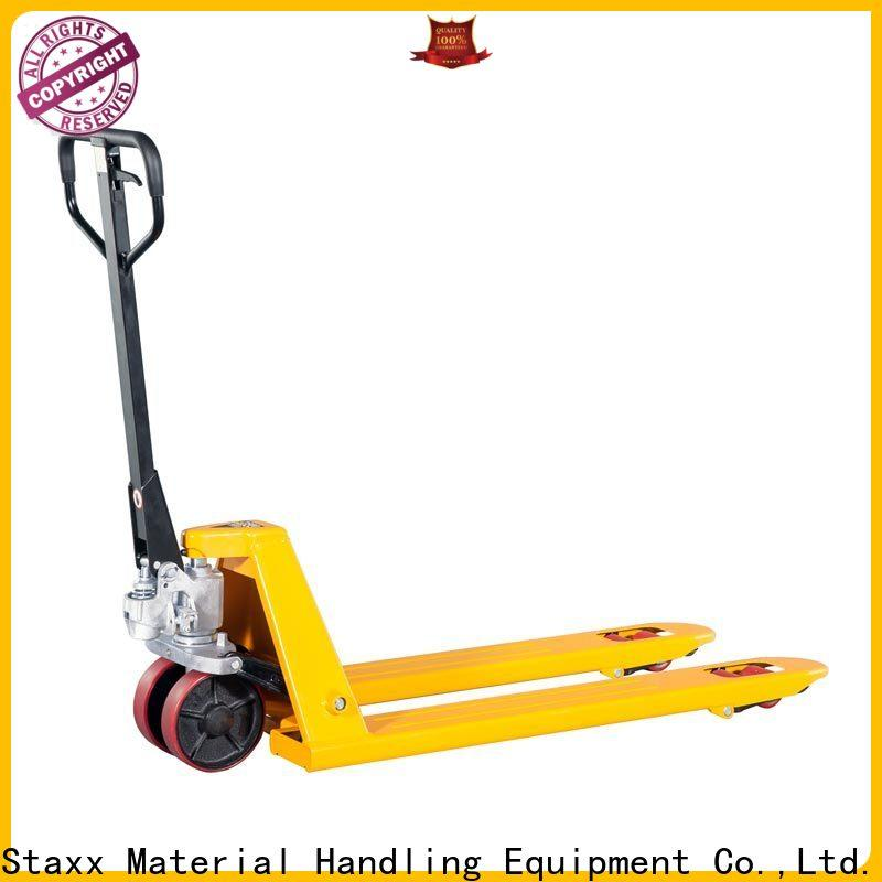 Staxx Best trolley pallet jack Supply for hire