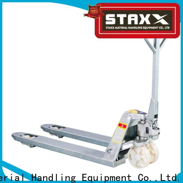 Staxx Best pallet jack en espanol company for stairs