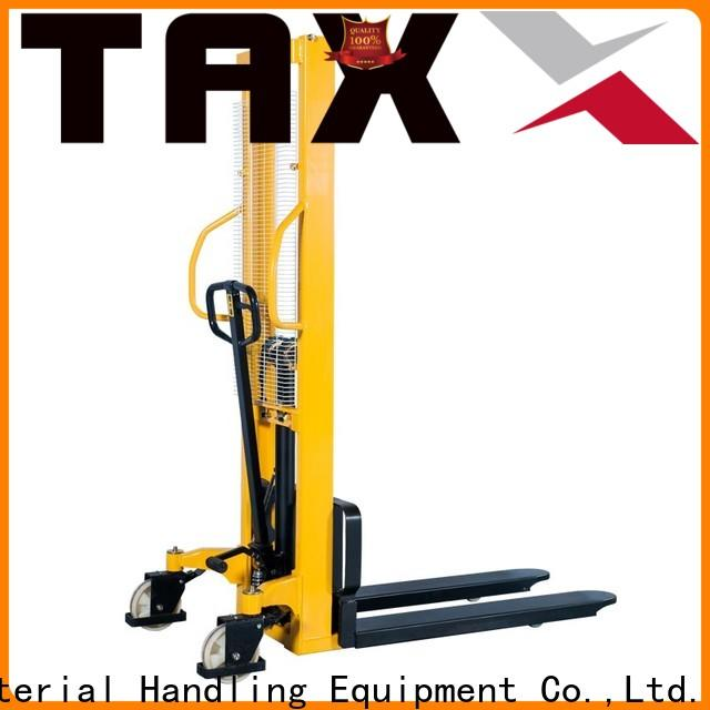 Staxx warehouse high lift pallet stacker Suppliers for stairs