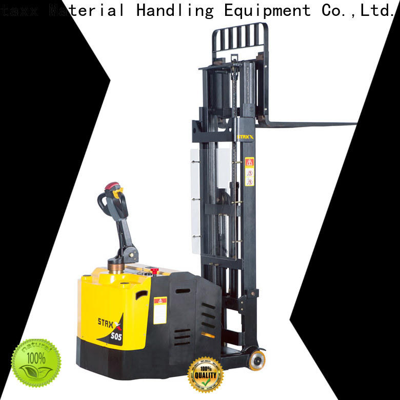 Staxx Best semi electric stacker manufacturers Suppliers for stairs