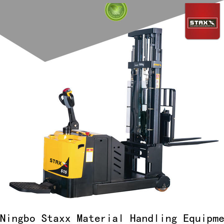 Staxx straddle used pallet truck Suppliers for stairs