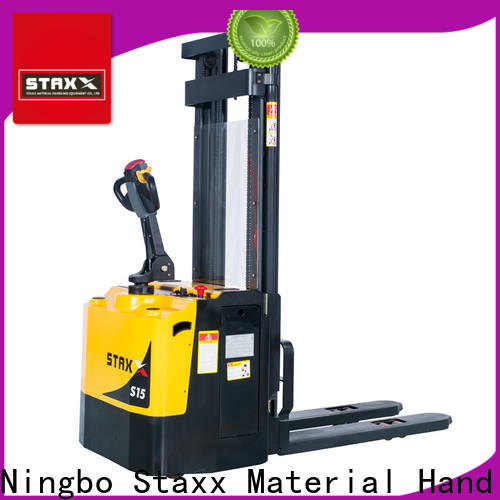 Staxx heavy 2nd hand pallet truck factory for rent