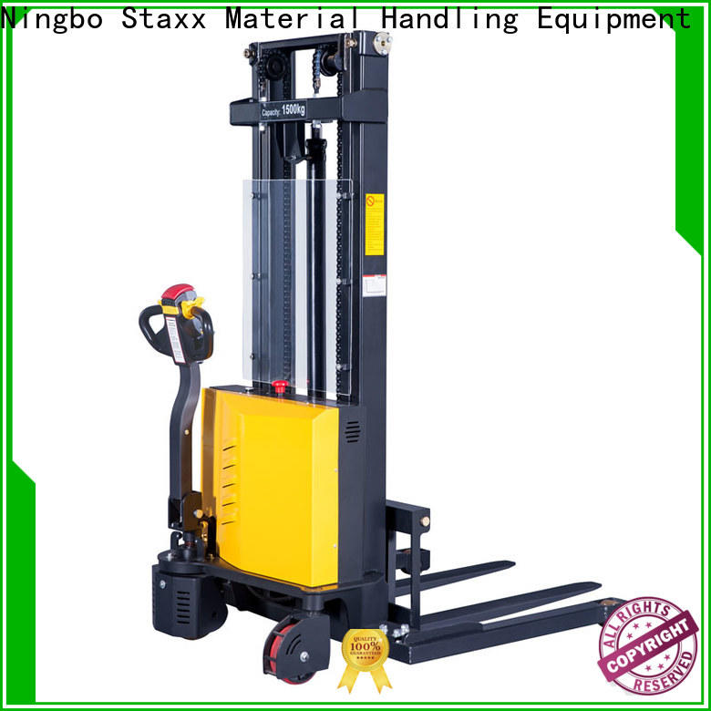 Staxx Wholesale used electric pallet jack manufacturers for warehouse