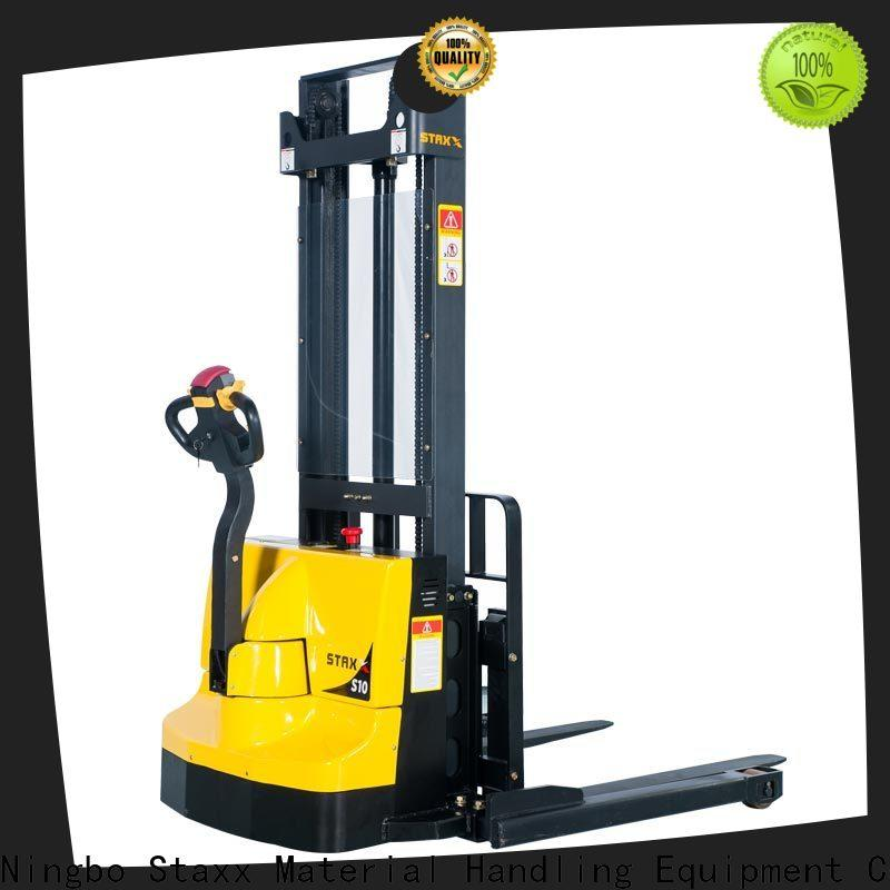 Staxx electric electric stackers agents manufacturers for rent