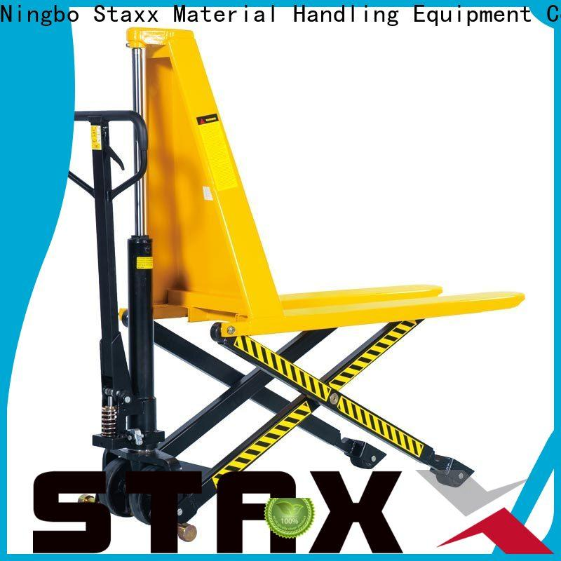 Staxx scale warehouse pump truck manufacturers for hire