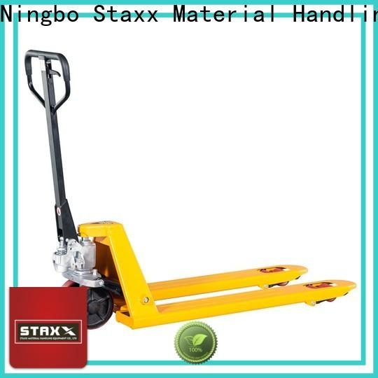 Staxx Top types of pallet jacks company for rent