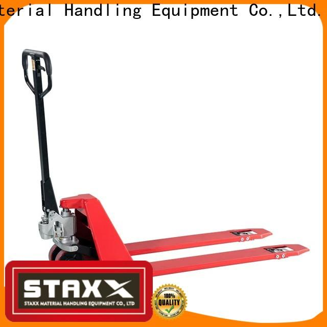 Staxx Best pallet jack hydraulic pump company for stairs