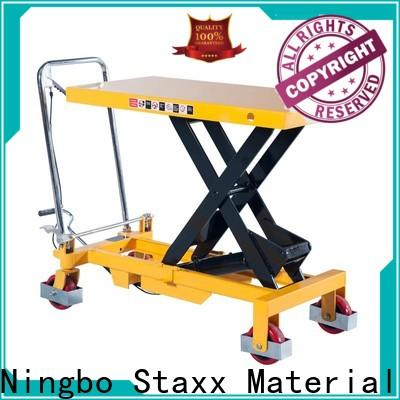 Latest scissor lift brands tables factory for warehouse