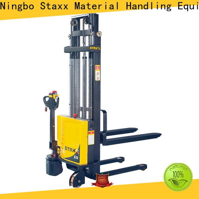 Top pallet lift stacker semi Supply for stairs