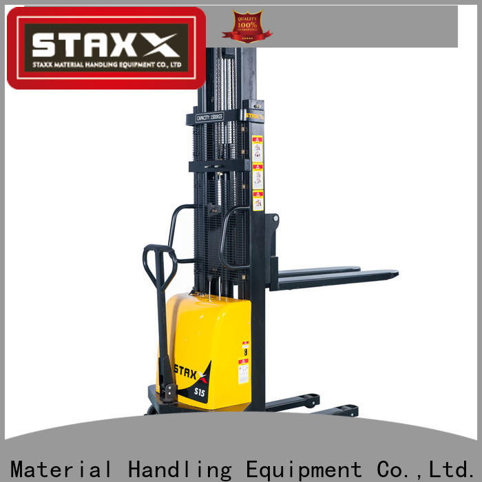 Staxx Wholesale walkie pallet stacker manufacturers for stairs