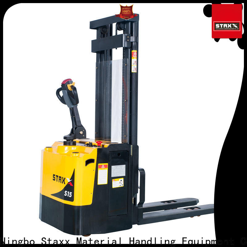 Staxx fork pallet jack height for business for hire