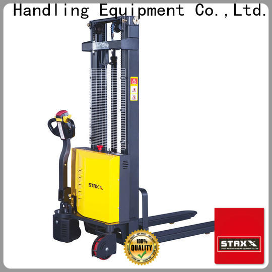 Staxx Best electric pallet stacker training for business for warehouse