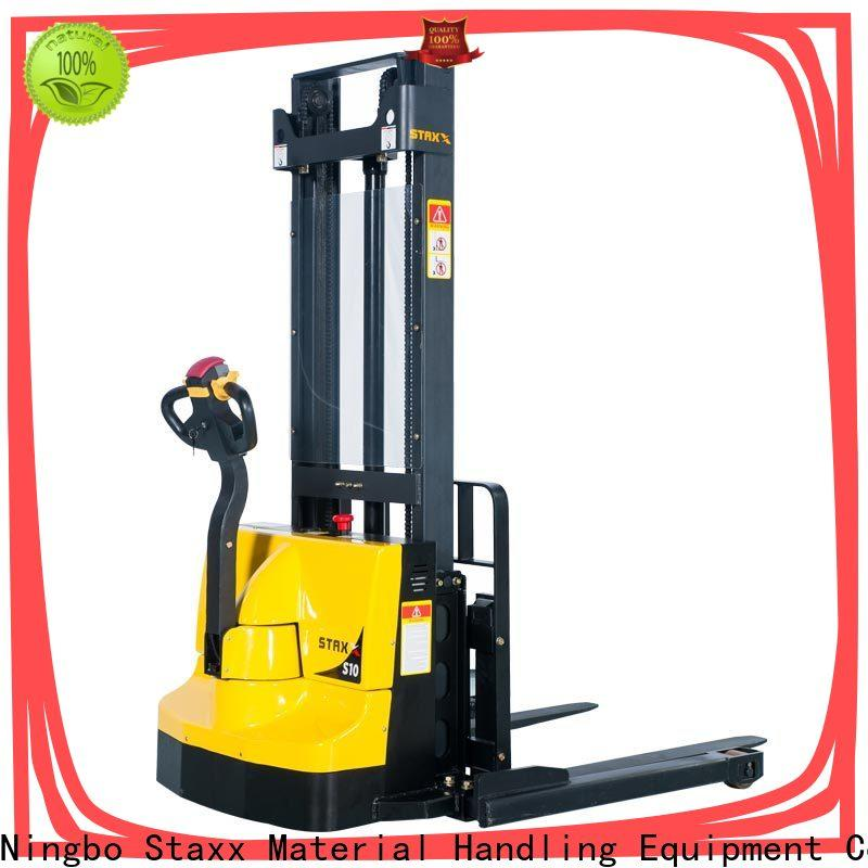 Custom used electric stacker reach for business for rent