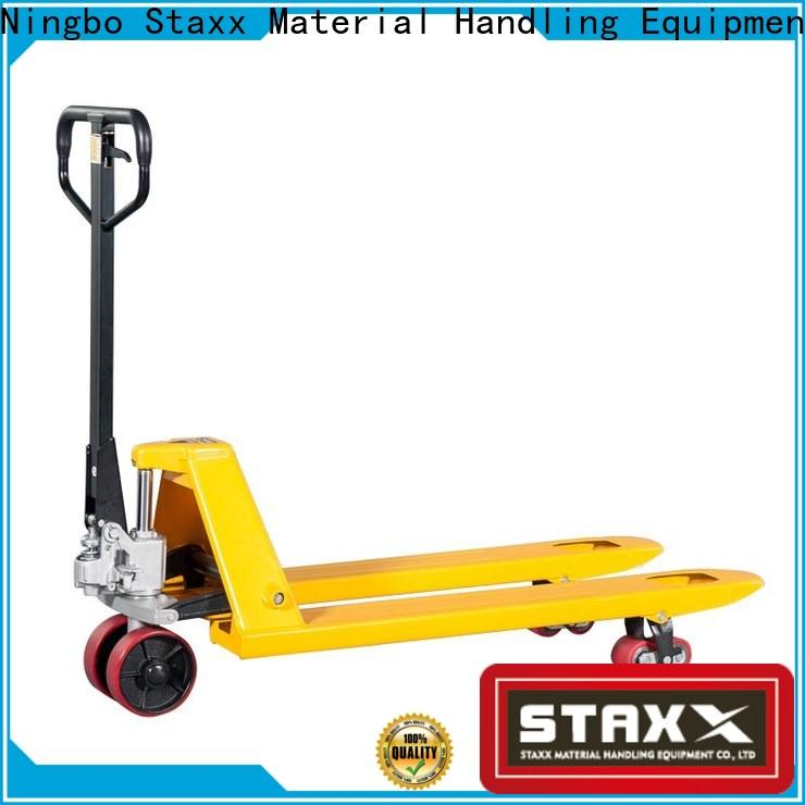 Staxx series pallet truck 5500 lbs for business for hire