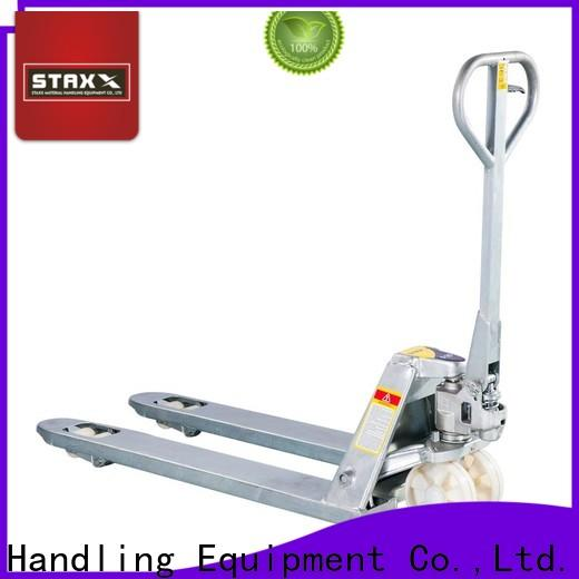 Staxx Latest best electric pallet jack for business for rent