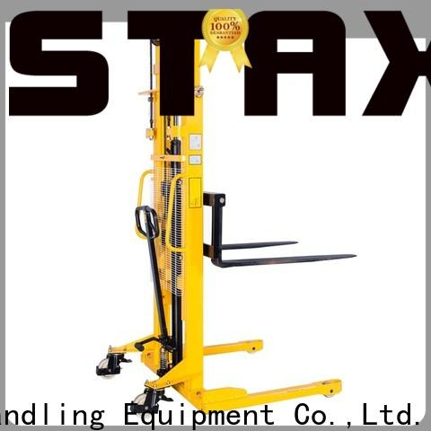 Staxx Top manual pallet stacker factory for stairs