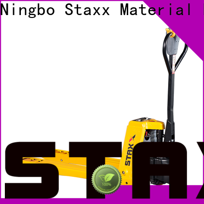 Staxx motorized used powered pallet trucks company for hire