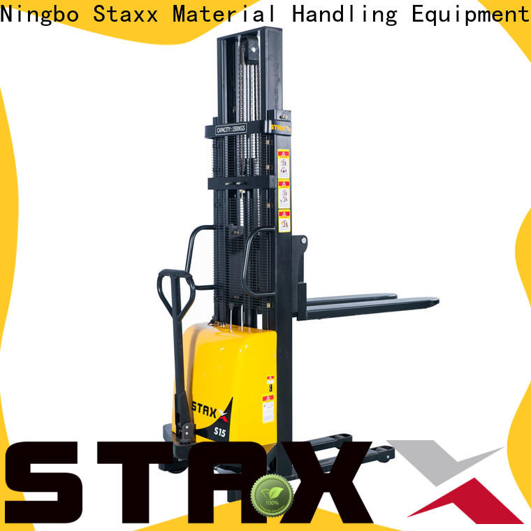 Staxx Top lift truck manual company for warehouse