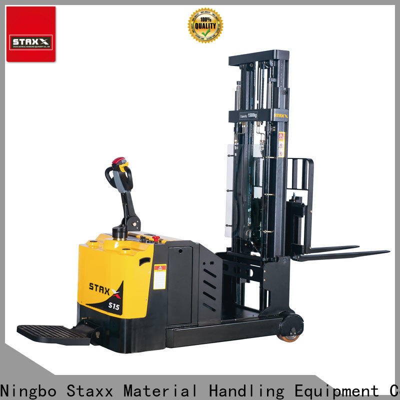 Staxx Latest high lift pallet stacker Suppliers for hire