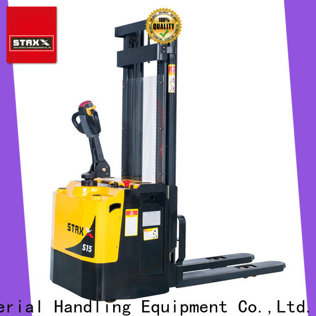 Staxx fully warehouse pallet truck company for warehouse