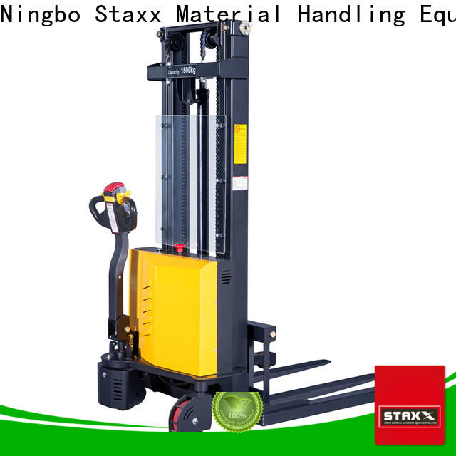 Staxx High-quality electric stackers company Suppliers for warehouse