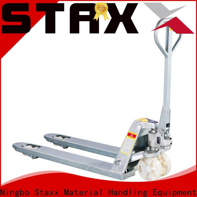 Staxx New used pallet jack scale company for rent