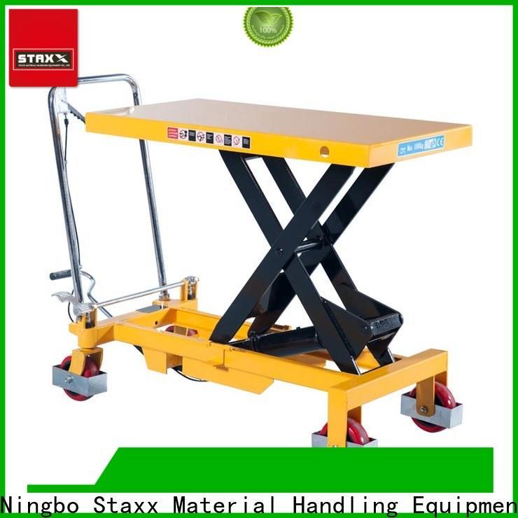 Best scissor lift table rental lift Supply for warehouse