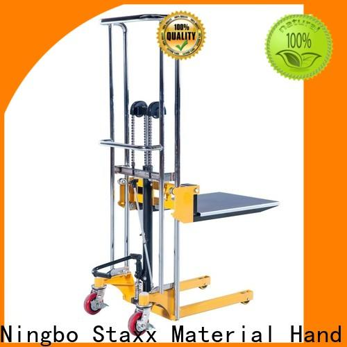 Staxx stacker platform stacker wholesalers manufacturers for rent