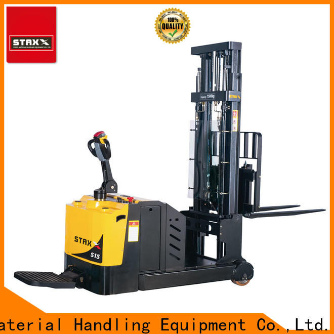 Staxx counter pedestrian pallet stacker company for stairs