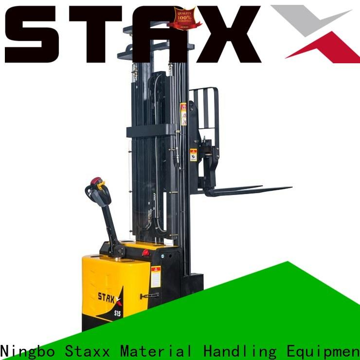 Staxx Latest crown pallet stacker for business for rent