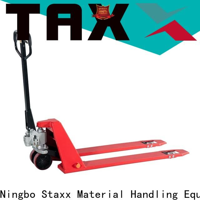 Staxx duty 2t pallet truck factory for stairs