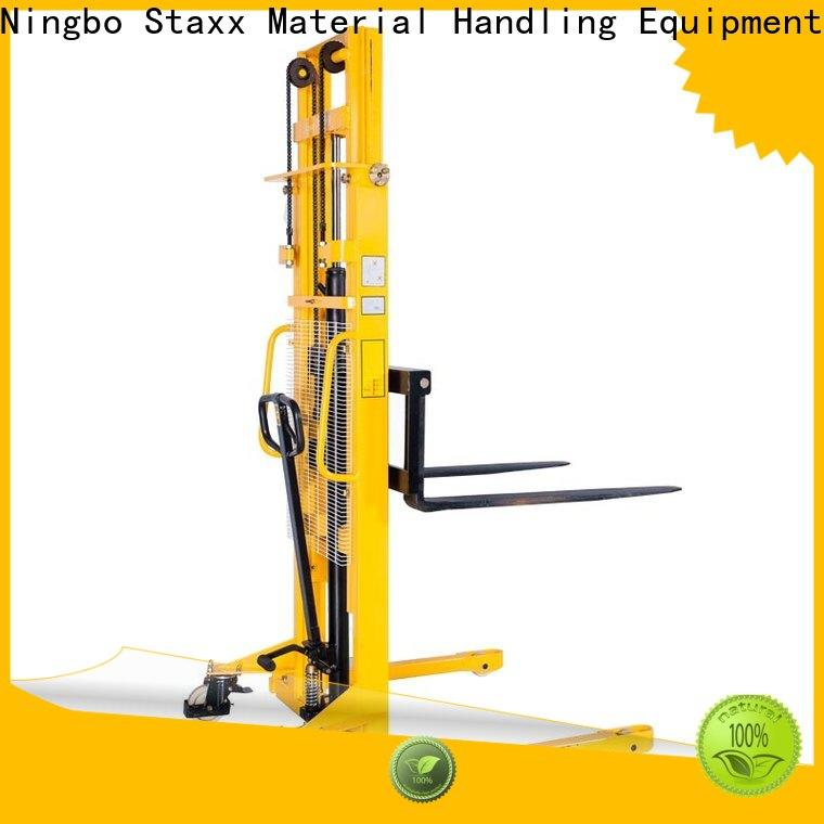 Staxx Wholesale manual forklift pallet stacker company for rent