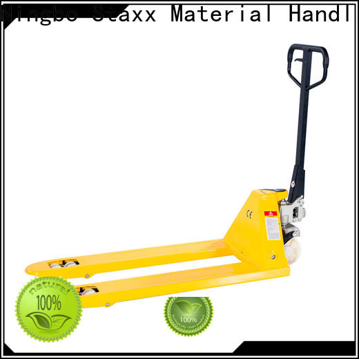 Wholesale pallet stacker truck truck company for rent