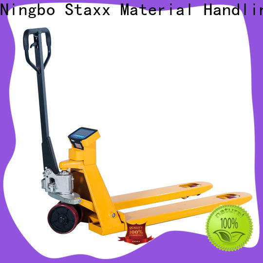 Staxx scale pallet stacker truck factory for stairs