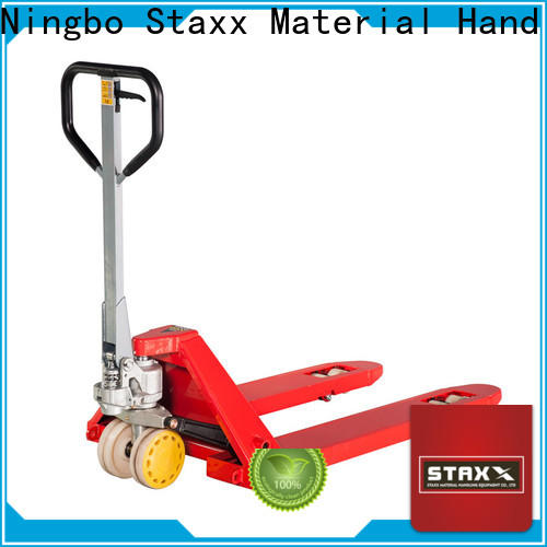 Staxx series yellow pallet jack factory for stairs