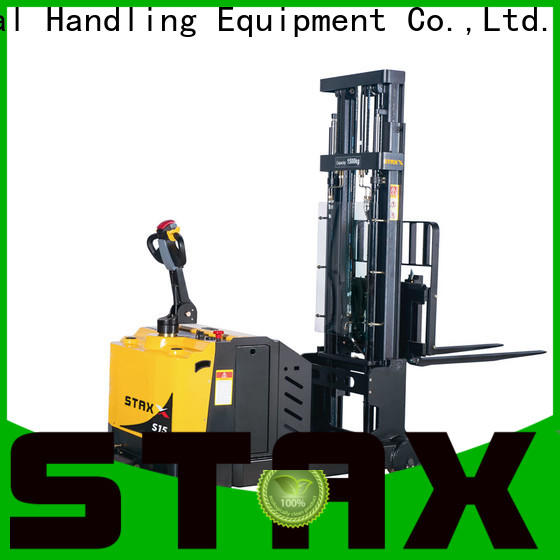 Custom used electric stacker forklift mrs121520 for business for hire