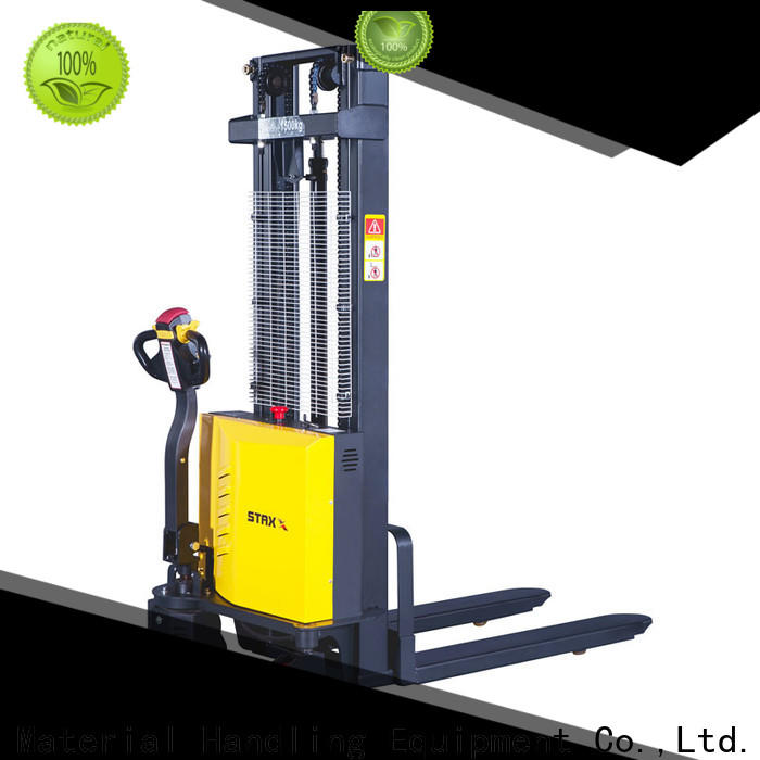 Latest electric pallet stacker used wrs15t company for stairs